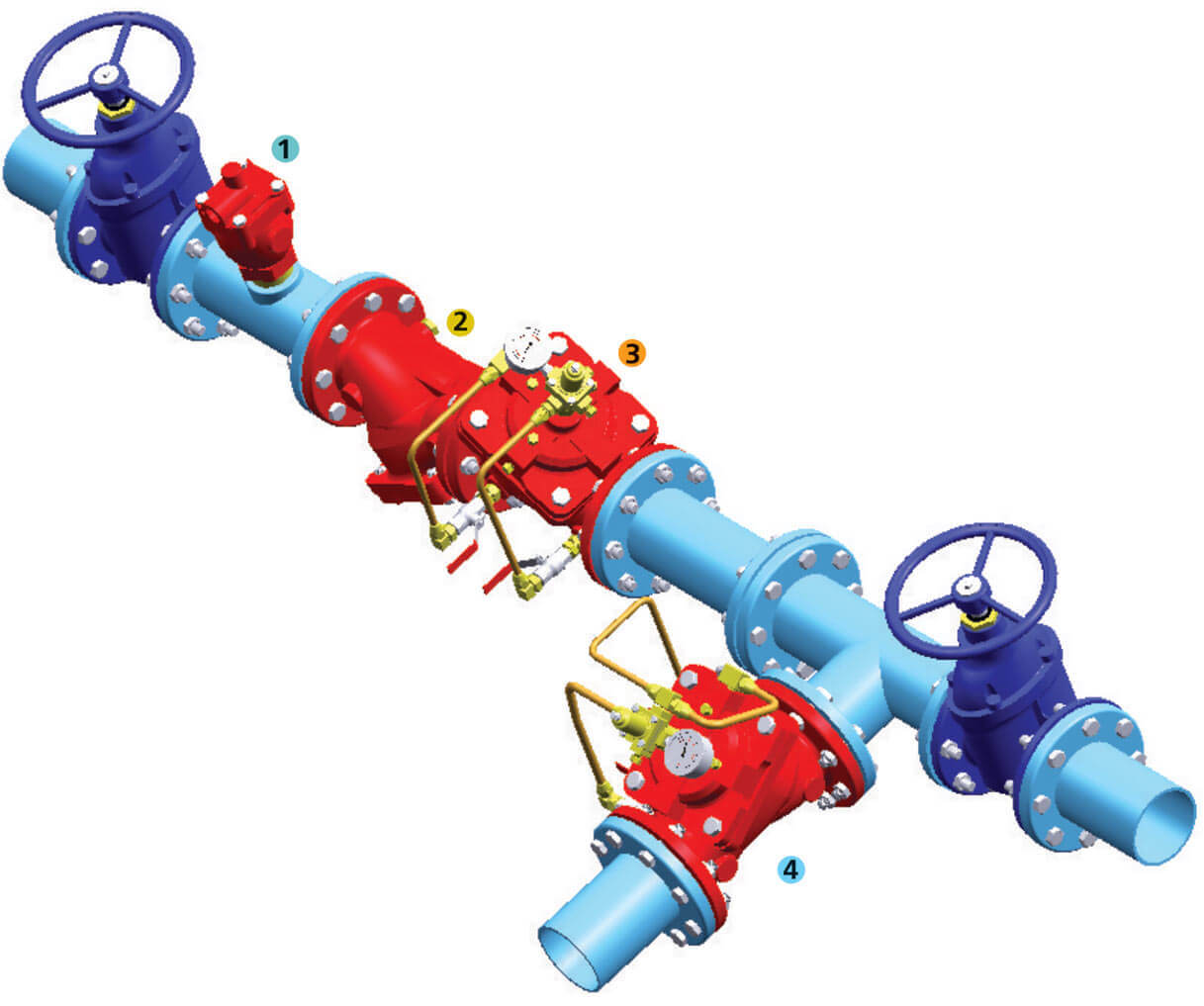 Dirt Retainer Pressure Control Valve Application