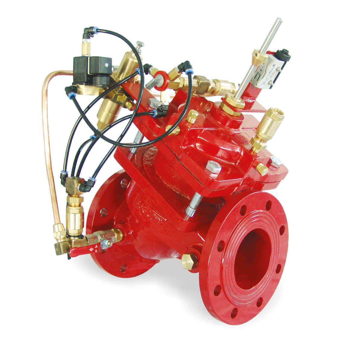 Entrance Pressure Adjustable Pump Control Valve