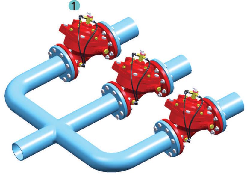 Manuel Hidrolik Kontrol Vanası Uygulama