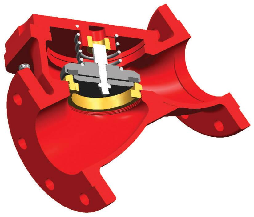 Mekanik Çekvalf Lift Çekvalf Ürün Kesiti