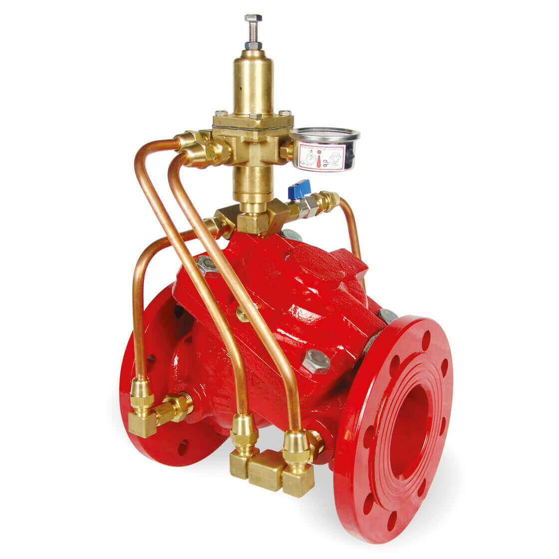 Pipe Burst Rapid Closure Control Valve