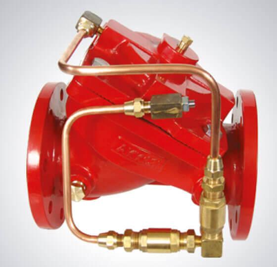 Hidrolik Çek Valf Yangın Söndürme Kontrol Vanaları Detay-1