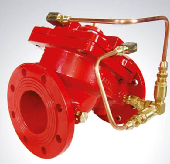 Hidrolik Çek Valf Yangın Söndürme Kontrol Vanaları Detay-2