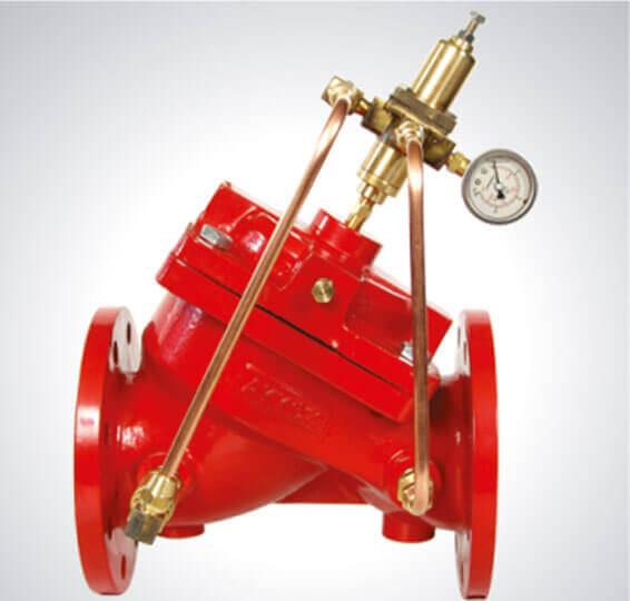 Hızlı Basınç Tahliye Kontrol Vanası Yangın Söndürme Sistem Vanaları Detay-1