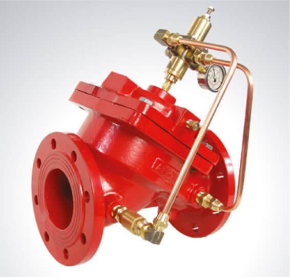 Hızlı Basınç Tahliye Kontrol Vanası Yangın Söndürme Sistem Vanaları Detay-2