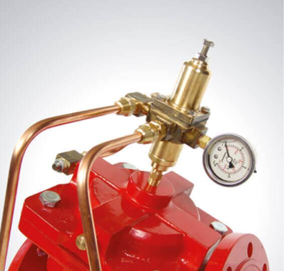 Hızlı Basınç Tahliye Kontrol Vanası Yangın Söndürme Sistem Vanaları Detay-3