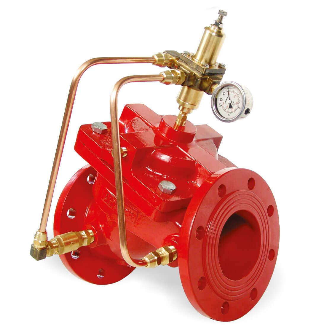 Hızlı Basınç Tahliye Kontrol Vanası Yangın Söndürme Sistem Vanaları