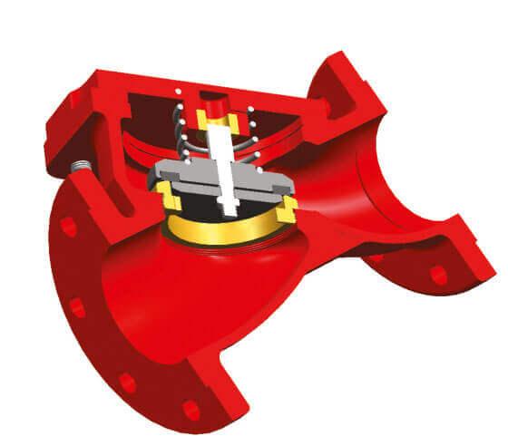 Mekanik Lift Çekvalf Yangın Söndürme Vanaları Detay-3
