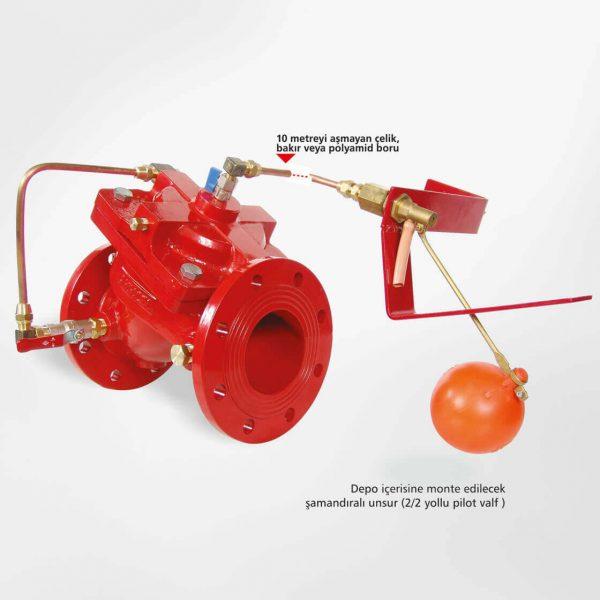 Seviye Kontrol Vanası Yangın Söndürme Sistemleri
