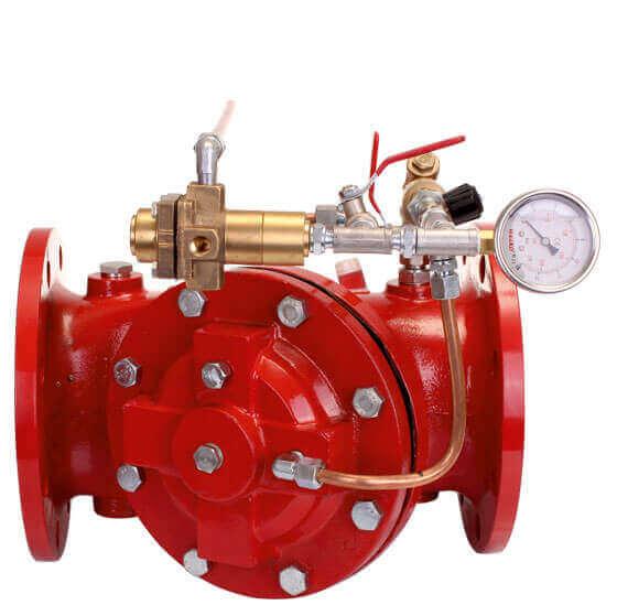 Yangın Kontrol Vanaları Nasıl Çalışır Ürün Dt-1